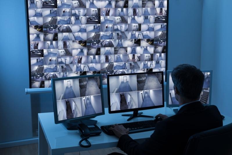Sistema de Segurança de Câmeras Via Internet Campo Magro - Sistema de CFTV Empresarial