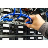 serviço de cabeamento estruturado de fibra óptica em Pinhais