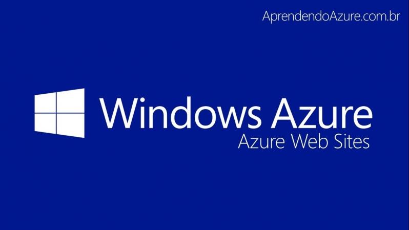 Venda de Windows Azure para Servidores Taboão da Serra - Armazenamento Azure